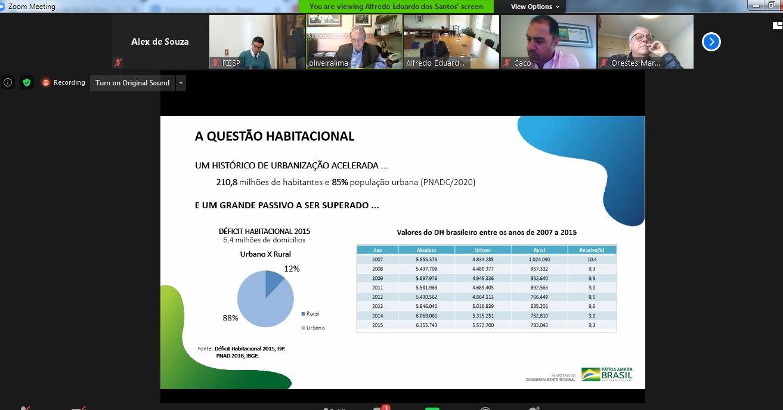 A afirmação é do secretário nacional de Habitação, Alfredo Eduardo dos Santos. O novo programa do Governo Federal movimentará o setor da construção civil