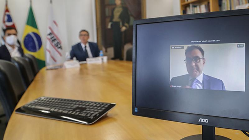 Conselho Superior de Comércio Exterior da Fiesp debate perspectivas e desafios do Brasil dentro do cenário econômico internacional, impactada, inclusive, pela pandemia