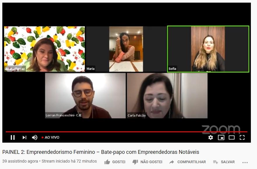Mulheres empreendedoras apresentaram cases de negócios que mudaram seu perfil ou foram inventados durante a crise
