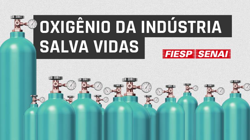 Desse total, 250 serão destinados à prefeitura da cidade de São Paulo, que solicitou essa quantidade do insumo à Fiesp