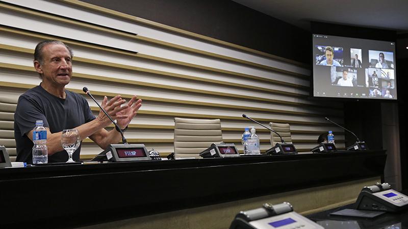 Ministro do Meio Ambiente e ministra da Agricultura participaram de videoconferência com membros do Conselho Diálogo pelo Brasil, que reúne os maiores grupos privados e é coordenado pelo presidente da Fiesp, Paulo Skaf