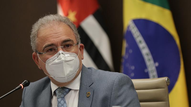 De acordo com o ministro da Saúde, o Brasil é o 5º país que mais distribuiu doses de vacina desde o início da imunização mundial. São mais de 70 milhões de doses de vacinas já entregues aos gestores estaduais e municipais