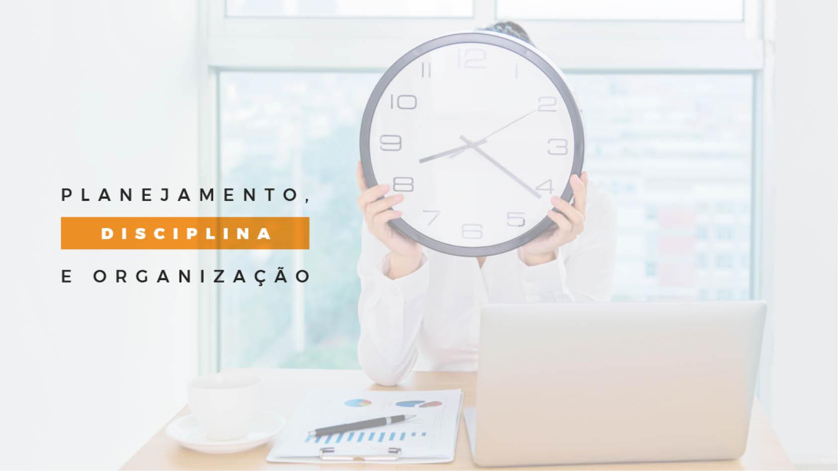 Gestão do tempo eficiente contribui para a produtividade e qualidade de vida