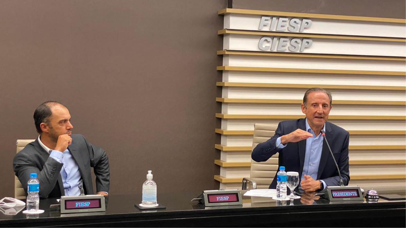 Presidente da Fiesp/Ciesp defende a retomada segura das atividades, observando protocolos de distanciamento e uso de máscaras