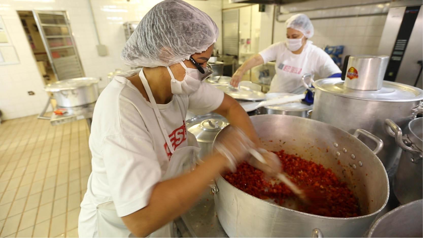 Neste mês, serão distribuídas mais 1,173 milhão de refeições