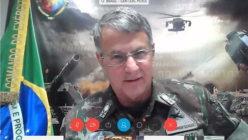 Videoconferência organizada pela Fiesp incluiu uma homenagem ao General Esper, falecido em junho