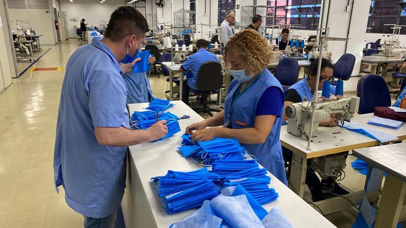 Doação de material beneficiará área da Saúde na luta contra Covid-19.