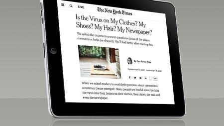Reportagem do jornal norte-americano The New York Times pediu para especialistas responderem perguntas de leitores sobre os riscos de entrar em contato com o vírus durante saídas essenciais e com entregas.