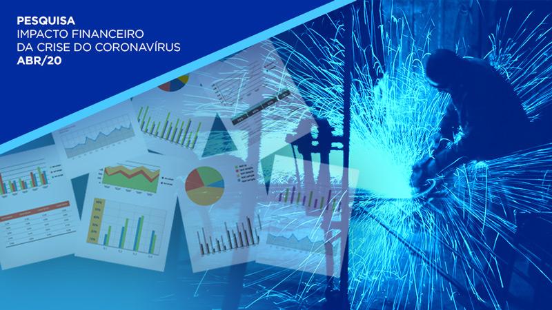 A análise foi feita entre os dias 9 e 14 de abril com 457 empresas industriais