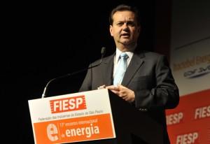 Gilberto Kassab, prefeito de São Paulo, no 13º Encontro de Energia da Fiesp. Foto: Everton Amaro