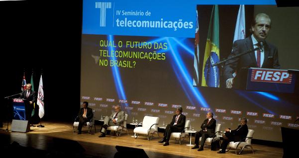 Seminário de Telecomunicações. Carlos Cavalcanti. Foto: Everton Amaro