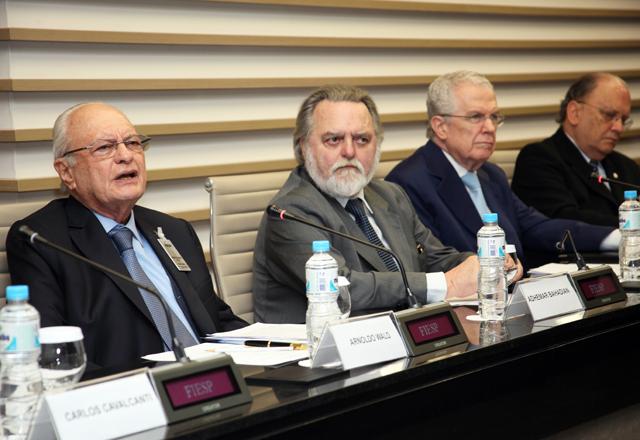 Reunião do Conjur/Fiesp: Jurista Arnoldo Wald. Foto: Julia Moraes