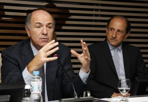 Ministro Corrado Passera e Paulo Skaf. Foto: Junior Ruiz