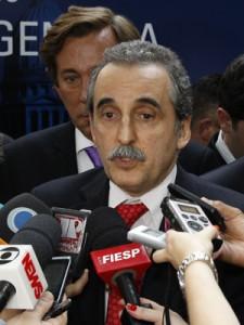 Guillermo Moreno, secretário de Comércio Interior da Argentina