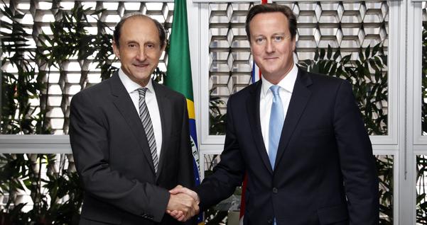 (601x318)Paulo Skaf recebe primeiro-ministro David Cameron. Foto: Junior Ruiz