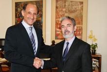 Paulo Skaf e o ministro das Relações Exteriores, Antônio Patriota. Foto: Junior Ruiz
