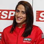 Daynara de Paula, atleta de natação do Sesi-SP. Foto: Junior Ruiz