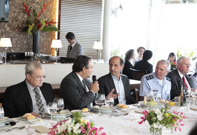 [640x440] Almoço com Fernando Grella Vieira, secretário de Segurança Pública. Foto: Junior Ruiz