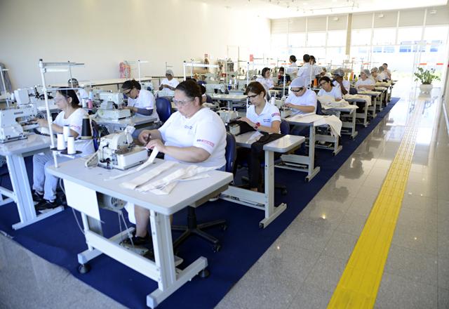 A Escola do Senai Ítalo Bologna: qualificação para a indústria e inclusão social. Foto: Everton Amaro/Fiesp