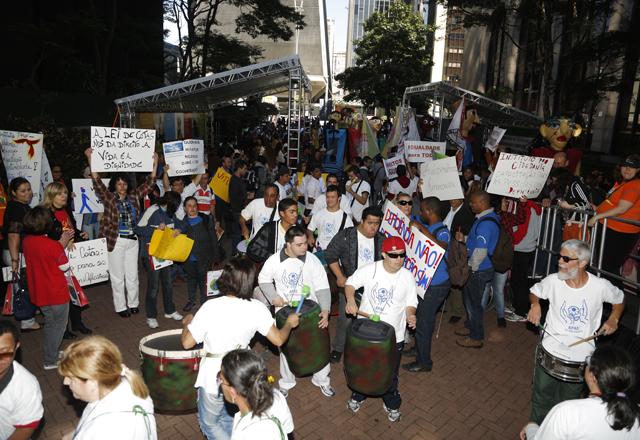 O evento que destacou iniciativas de inclusão na Rua das Flores. Foto: Everton Amaro/Fiesp