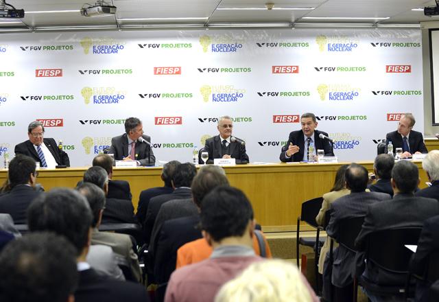 """O seminário """"Futuro Energético e Geração Nuclear"""": debate sobre novas matrizes para o setor. Foto: Helcio Nagamine/Fiesp"""