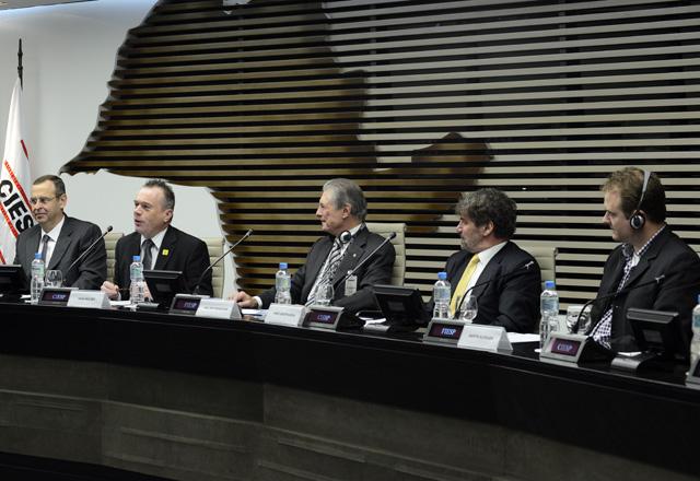 Seminário sobre áreas contaminadas na Fiesp: experiências do Brasil e da Holanda. Foto: Helcio Nagamine/Fiesp