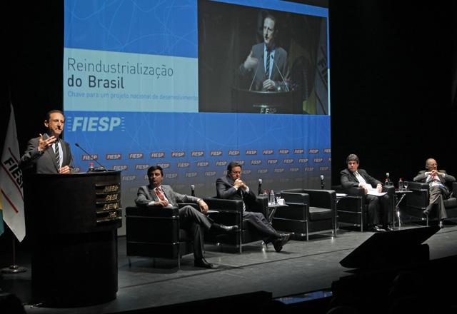 """Skaf: """"A indústria de transformação é de suma importância para qualquer país"""". Foto: Ayrton Vignola/Fiesp"""