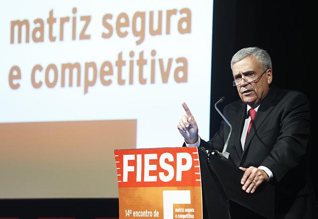 """Braga: uso do """"capital ambiental"""" de forma menos """"impactante"""". Foto: Everton Amaro/Fiesp"""