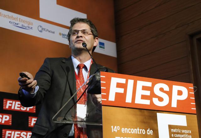 Guimarães, presidente da Comgás: preços em linha com padrões europeus. Foto: Julia Moraes/Fiesp