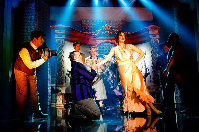 Cena do musical em cartaz no Teatro do Sesi-SP: ação da indústria. Foto: Arquivo Fiesp