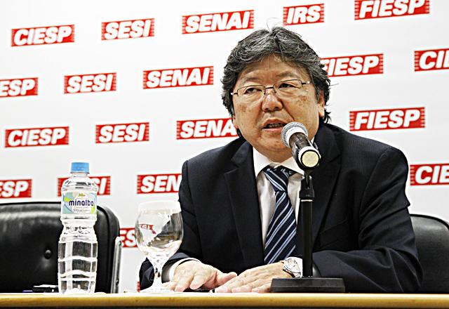 Hirose abriu o seminário realizado na Fiesp