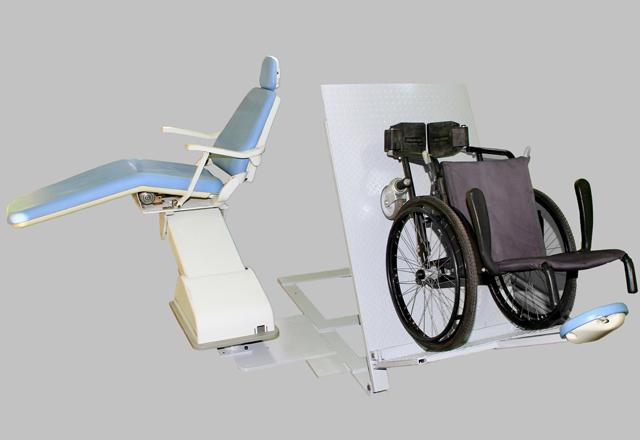 Ilustração da cadeira adaptada vencedora do Inova Senai 2013 na categoria Materiais e Produtos. Foto: Divulgação