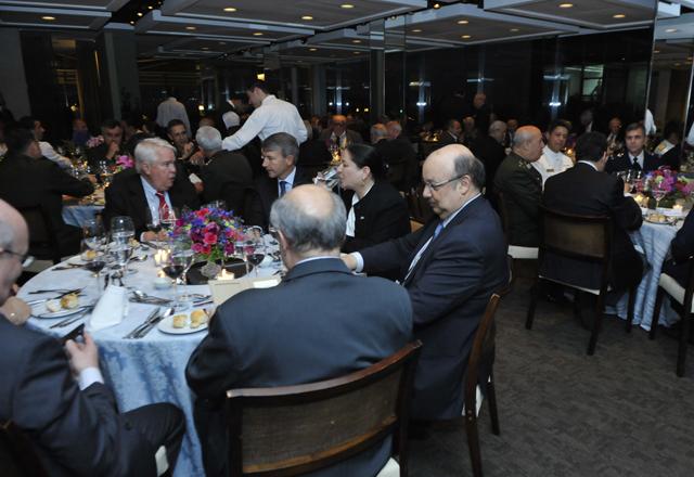O jantar oferecido pela Fiesp em homenagem às Forças Armadas. Foto: Beto Moussalli/Fiesp