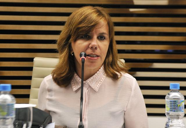 Susy: oportunidade de tirar dúvidas sobre as mudanças trazidas pelo eSocial. Foto: Tâmna Waqued/Fiesp