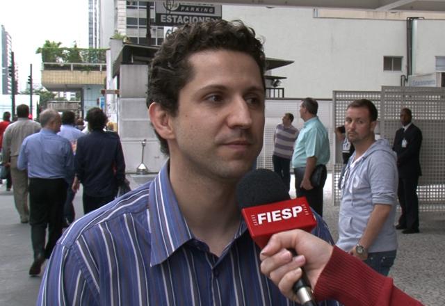 """Fernando: """"Muito boa a ideia de Fiesp de entrar com uma ação contra isso na Justiça"""". Foto: Fiesp"""