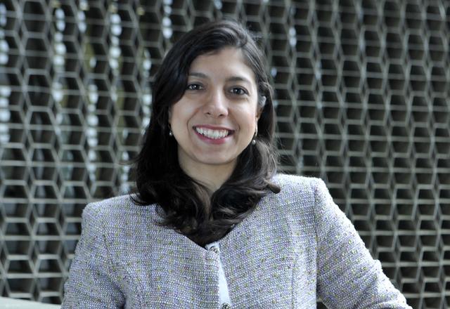 """Juliana:  ideia de criação de um """"consórcio informal"""" com seis empresas para trabalhar em conjunto. Foto: Beto Moussalli/Fiesp"""