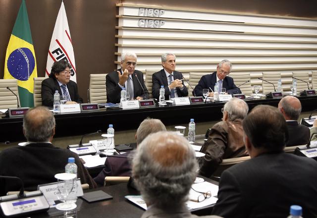 A reunião do Cosema: flexibilidade nas empresas para melhorar mobilidade. Foto: Tâmna Waqued/Fiesp