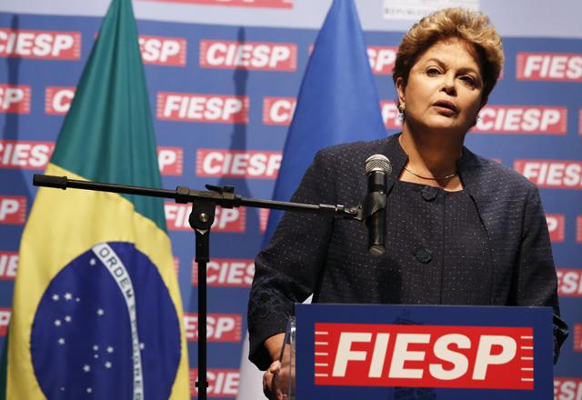 Dilma na Fiesp: troca de ofertas comerciais prevista para janeiro de 2014. Foto: Tâmna Waqued/Fiesp