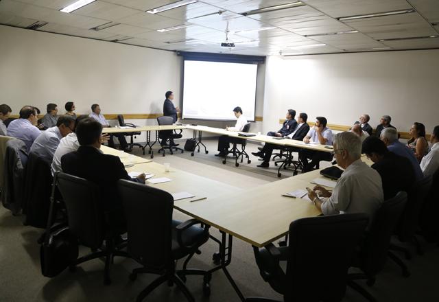 O workshop desta quarta-feira (29/01) na Fiesp: mais oportunidades para as empresas brasileiras. Foto: Tâmna Waqued/Fiesp
