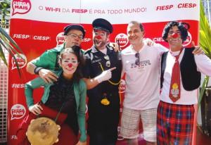 Wagner: iniciativas como a da Fiesp revitalizam a Paulista. Foto: Tâmna Waqued/Fiesp