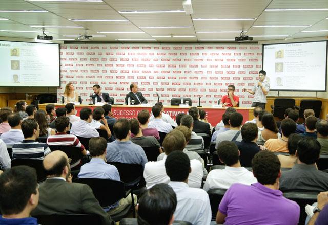 A reunião do CJE: muitas possibilidades à disposição dos empreendedores. Foto: Tâmna Waqued/Fiesp
