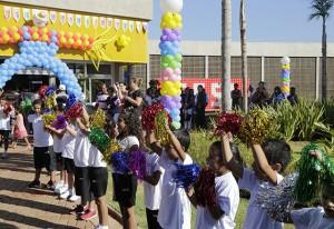 A escola do Sesi-SP em Igaraçu: um presente para a cidade. Foto: Ayrton Vignola/Fiesp