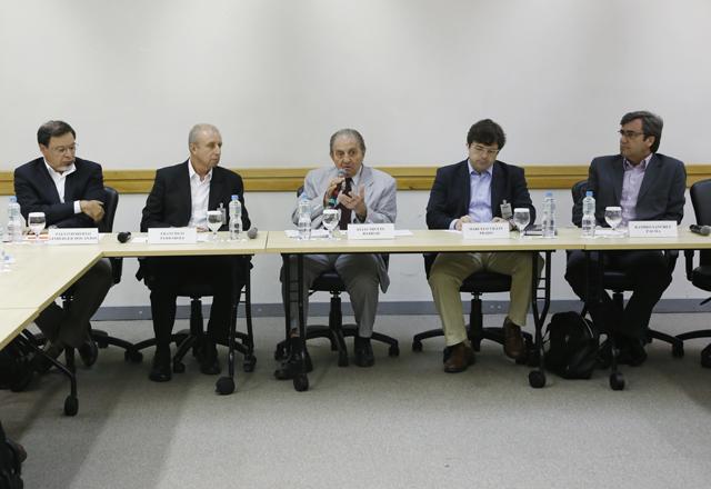 A reunião do Comtextil: trabalho em sintonia diante de temas como o custo Brasil. Foto: Beto Moussalli/Fiesp