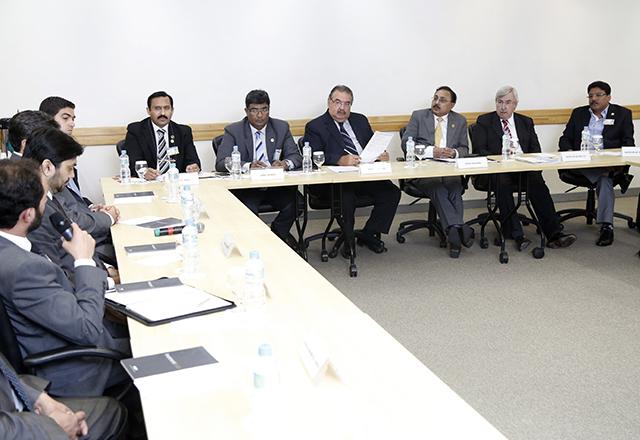 O encontro com os empresários do Paquistão: mais ações conjuntas. Foto: Everton Amaro/Fiesp