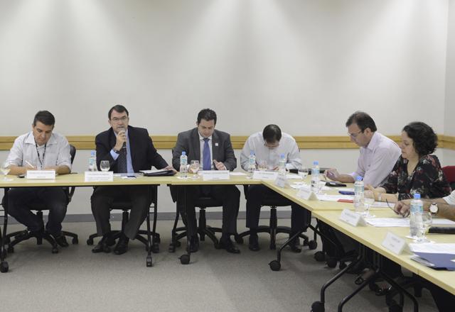 A reunião do Deconcic: investimento em segurança e normatização em debate. Foto: Helcio Nagamine/Fiesp