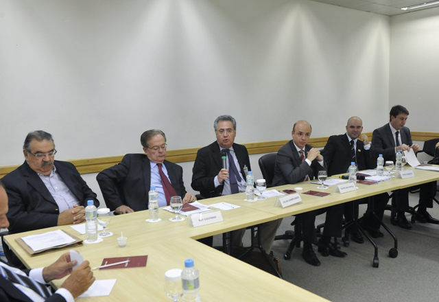 A reunião do Grupo de Estudos de Direito Concorrencial: debate sobre concorrência e papel do governo. Foto: Helcio Nagamine/Fiesp