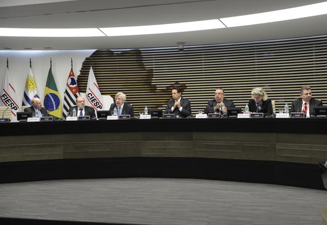 """O seminário """"Uruguai – Plataforma de Expansão Regional"""" na Fiesp: integração. Foto: Helcio Nagamine/Fiesp"""