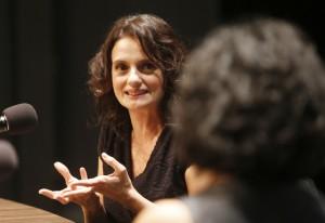 """Denise: """"cinema é uma arte que cabe muito às mulheres"""". Foto: Everton Amaro/Fiesp"""