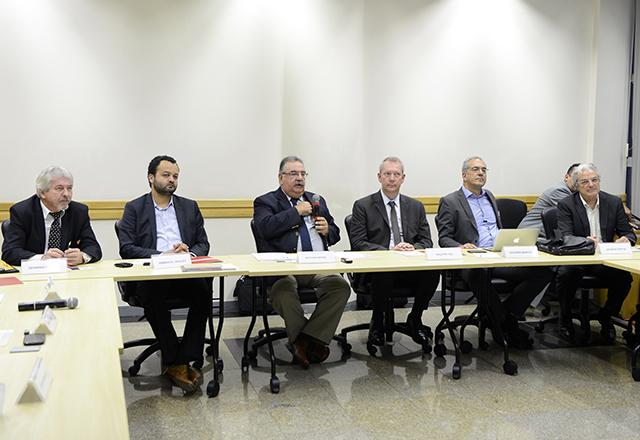 A reunião do Derex: mais parcerias entre países. Foto: Helcio Nagamine/Fiesp