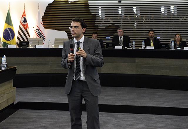 Degrazia: mais competitividade para os produtos brasileiros. Foto: Helcio Nagamine/Fiesp